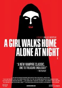 A girl walks home alone poster